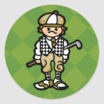golf STICKer. (see, STICK instead of CLUB. egads)