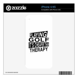 GOLF su más barato que terapia Skins Para eliPhone 4