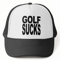Golf Sucks Trucker Hat