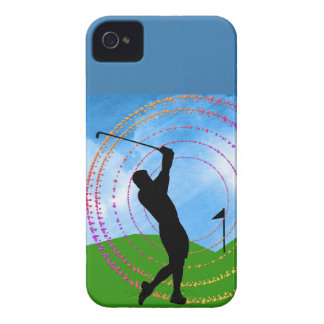 Golf Swing iPhone 4 Case-Mate Cases