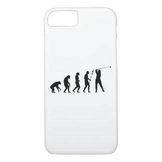 golf swing evolution iPhone 7 case
