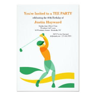 Golf Swing Invitation