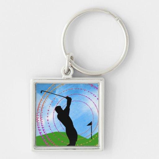 Golf Swing Keychains