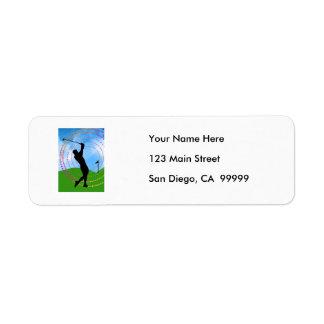 Golf Swing Label