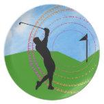 Golf Swing Plates