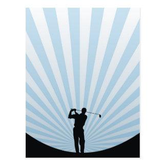 Golf Swing Postcard