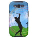 Golf Swing Samsung Galaxy SIII Case