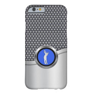 dancingpelican Golf Swing Sporty Metallic Look Barely There iPhone 6 Case