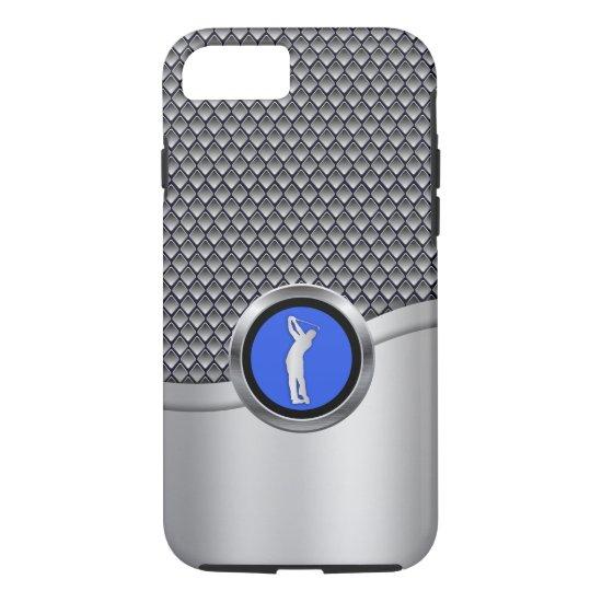 Golf Swing Sporty Metallic Look iPhone 8/7 Case
