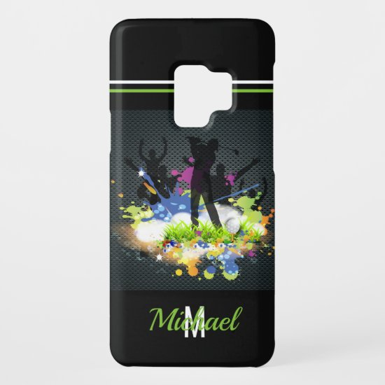 Golf Swing Supporters Personalized Modern Golfer Case-Mate Samsung Galaxy S9 Case
