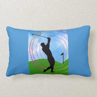 Golf Swing Throw Pillow