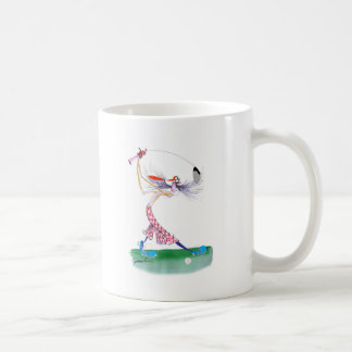 golf swing, tony fernandes coffee mug