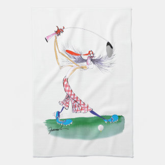 Golf Swing, tony fernandes Towel