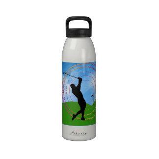 Golf Swing Water Bottle