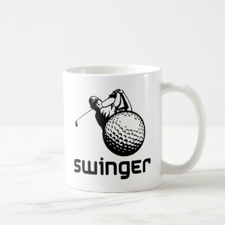 Golf Swinger Coffee Mug