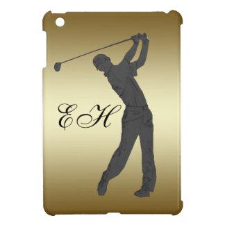Golf Swinger Customizable iPad Mini Covers
