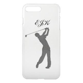 Golf Swinger Customizable Monogram iPhone 8 Plus/7 Plus Case