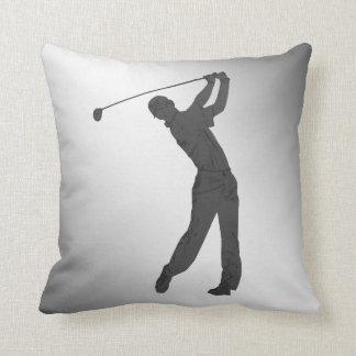 Golf Swinger Customizable Pillows