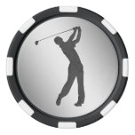 Golf Swinger Customizable Set Of Poker Chips at Zazzle