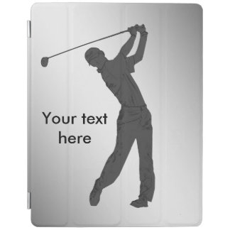 Golf Swinger Customizable Text iPad Smart Cover
