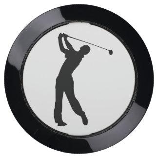 Golf Swinger Customizable USB Charging Station