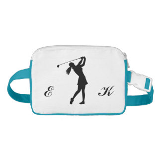 Golf Swinger, Female,  Monogram Fanny Pack