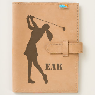 Golf Swinger, Female,  Monogram Journal