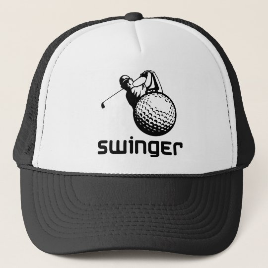 Golf Swinger Trucker Hat