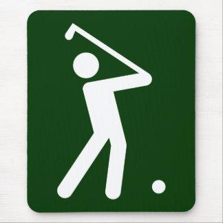 Golf Symbol Mousepad
