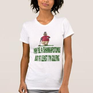 Golf t-shirts: Shankapotomus Hippo Tee Shirts
