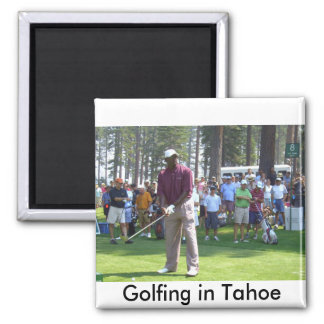 "Golf Tahoe Magnet ""Golfing in Tahoe Collection"""