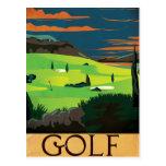 Golf Tarjetas Postales