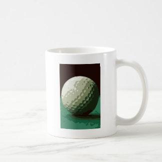 Golf Taza Básica Blanca