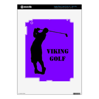 golf team iPad 3 decals