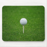Golf Tee Close Up Mouse Pad