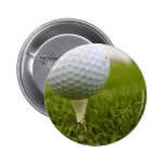 Golf Tee Design Button