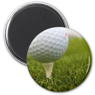 Golf Tee Design Magnet