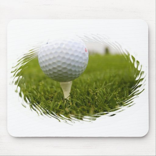 Golf Tee Design Mouse Pad