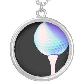 Golf Tee Design Necklace