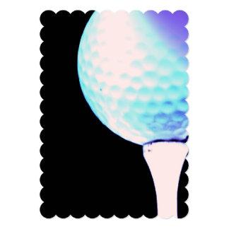 Golf Tee Custom Invitations