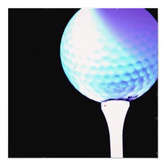 Golf Tee Invitation