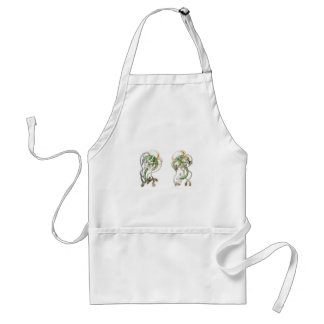 Golf Tee Medusa Adult Apron