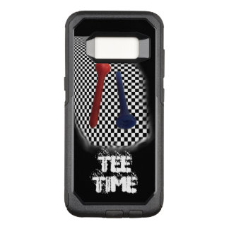 Golf Tee Psychobabble Splash OtterBox Commuter Samsung Galaxy S8 Case