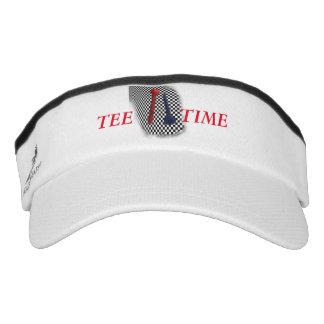Golf Tee Psychobabble Splash Visor