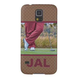 Golf Tee Time Customizable Galaxy S5 Case
