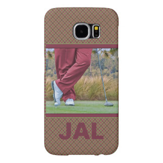 Golf Tee Time Customizable Samsung Galaxy S6 Case