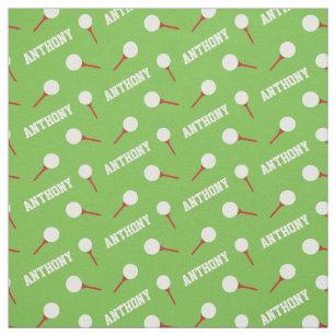 Golf Fabric Zazzle