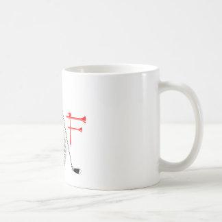 golf text mug