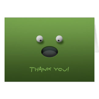 Golf Thank You! Cards