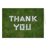 Golf Thank You Greeting Card